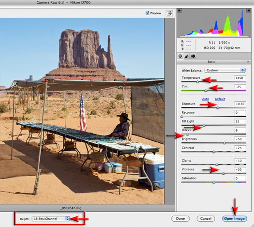 16 Bits/Channel Editing in Photoshop Elements - Photoshop