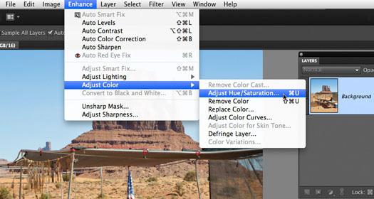 adobe photoshop elements 10 replace color
