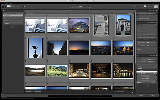 Import A Recent Shoot With A New Custom Preset — Photoshop Lightroom 3 Tutorial