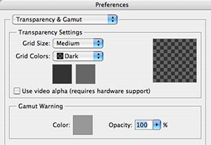 Photoshop Tip: checkered Background Customization