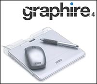 Wacom Graphire4 Pen, Mouse, & Tablet Info & Tutorial