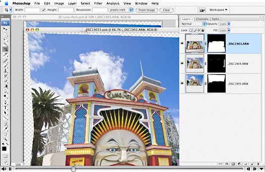 Free Photoshop CS3 Video Tutorial - Using Smart Filters In Photoshop CS3