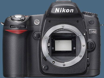 Nikon D80 SLR Digital Camera (Camera Body)