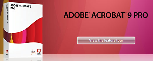 Adobe Acrobat 9 Pro - FREE TRIAL DOWNLOAD