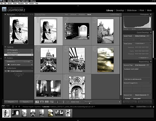 Importing Images Into Photoshop Lightroom 2