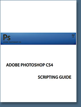 Documentation on Adobe Photoshop CS4 Scripting