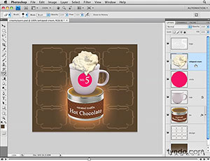 Working With Layers In Photoshop CS4 - 4 Free Video Clips From Photoshop CS4 Essential Training With Jan Kabili