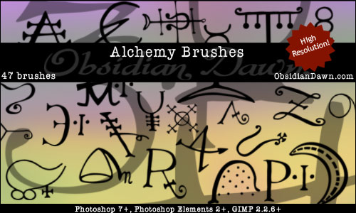 Alchemy Vectors Photoshop Brushes