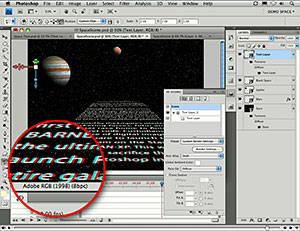 Russell Brown Video Tutorials on Photoshop CS4 Masking Features, New Bridge Features, And Star Wars Style Text Crawls