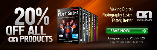 Instant 20% Discount On Genuine Fractals And All onOne Software Plugins - Exclusive 20% Off Discount Coupon