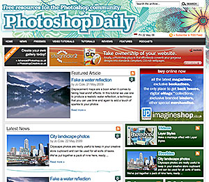 Photoshop Daily - Free Resources For The Photoshop Community