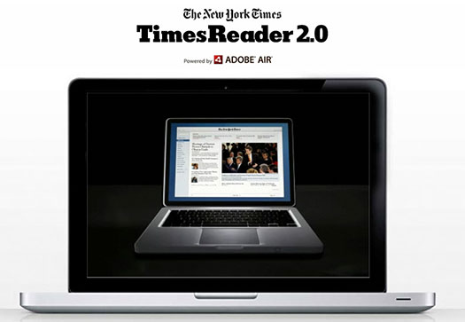 The New York Times Launches Enhanced Version of Times Reader ...