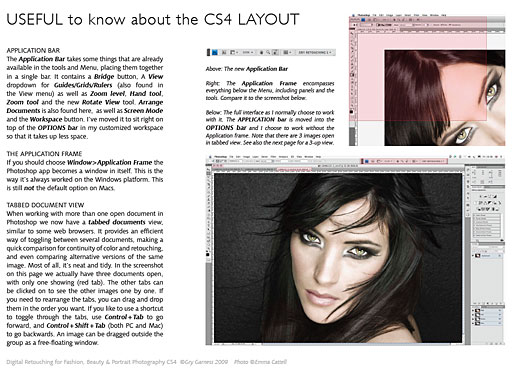 Useful Tips About The New CS4 Layout