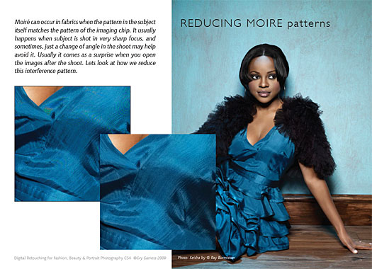 How To Reduce Moire Patterns In Photoshop CS4