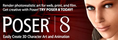 Poser 8 — Top 3D Character Solution For Hobbyists, Artists And Graphic Professionals
