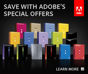 Adobe Summer Special Deals - Save $100 On Upgrades To Creative Suite 4 - Plus Save Up To 80% On Education Versions