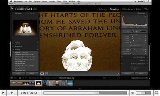What's New In Lightroom 3 - New Features In Photoshop Lightroom 3 - Video Tutorials From Julieanne Kost