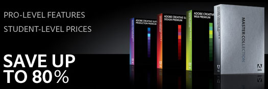 Adobe UK Store Specials - Save 80% On Adobe Student Editions And Get Free Shipping On All Education Products
