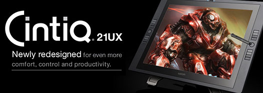 Wacom Cintiq 21UX Interactive Pen Display Announced - 21-Inch Pen Display - Graphics Monitor With Digital Pen