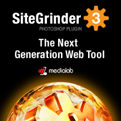 SiteGrinder Photoshop Plugin - Create Websites Instantly