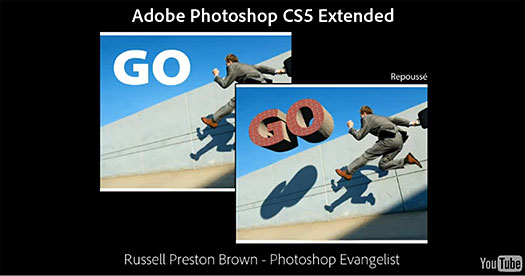 Russell Brown's Favorite New Features In Photoshop CS5 Extended
