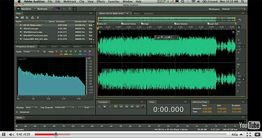 Adobe Audition For Mac Coming Soon