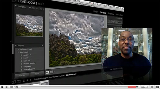 Lightroom 3 To Photoshop CS5 HDR Pro Workflow - Video Tutorial