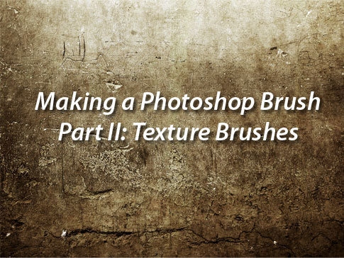How To Make Texture Brushes - Tutorial From BittBox