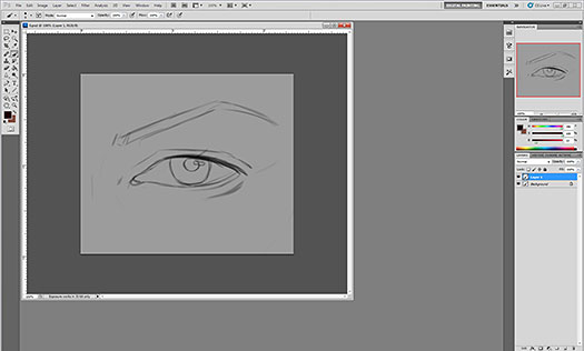 How To Paint Realistic Eyes In Photoshop CS5