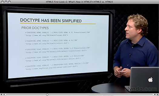 HTML5 First Look - Free HTML 5 Training Video Clips - lynda.com