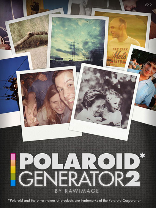 Polaroid Generator 2 - Free Photoshop Polaroid Effect Actions