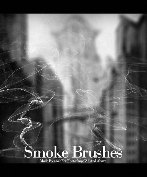 кисти для фотошопа cs5 дым: