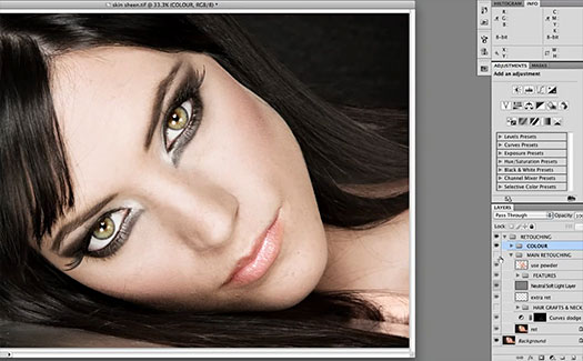 Skin Retouching - Pop the Highlights - Free Video Tutorial