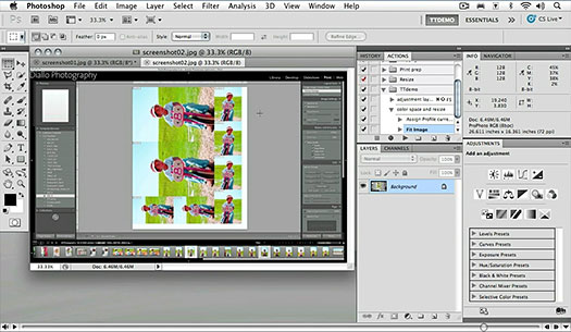 Free Video - Adobe Photoshop CS5 Advanced - Recording A Simple Action