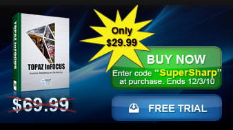 InFocus - Photoshop Plugin - Simple Sharpening And Deblurring Solution - Discount Coupon - $40 Off