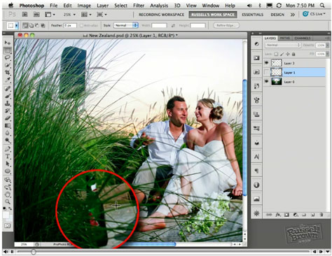 Photoshop How-To: When You Can't Cut It Out, Cover It Up