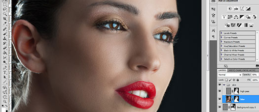 Simple Beauty Retouching Photoshop Tutorial For Photoshop Users With Moderate Experience