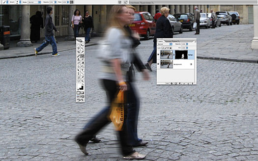 Photoshop Tip - Mimic A Slow Shutter Speed With Motion Blur