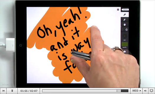 Adobe Ideas New Features Video