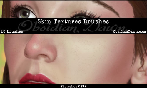 Free Skin Textures Photoshop Brushes From Obsidan Dawn