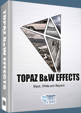 Topaz B&W Effects Photoshop Plugin - Special Low Intro Price - $29.99