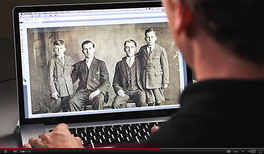 Restore Old Photographs and Other Images
