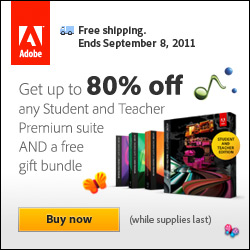 Get Up To 80% Off Any Student And Teacher Premium Suite And Receive Portable Speakers, Laptop Sleeve, And Free Shipping - Ends Sept. 8