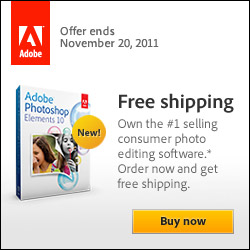 newly released Adobe Photoshop Elements 10