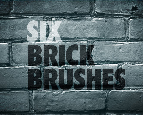Free Set Of Bricks Brushes - Free Photoshop Brushes