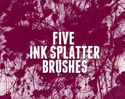 http://www.bittbox.com/freebies/freebie-friday-5-ink-splatter-brushes