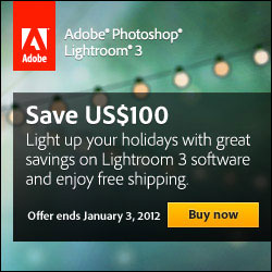 Get US$100 off Adobe Photoshop Lightroom