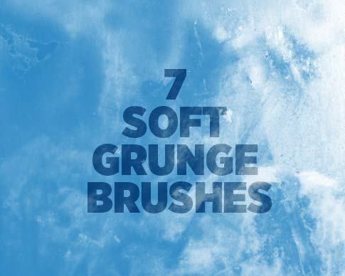 7 Soft Grunge Brushes From Bittbox