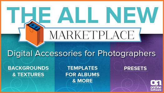 onOne Launches Marketplace For Photographers - Offering Templates, Photoshop Layouts, Backgrounds and Presets