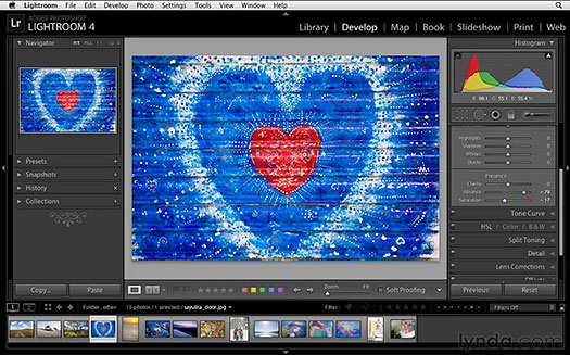Free Lightroom 4 Video Training Clips From lynda.com